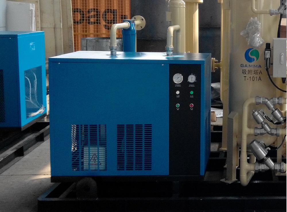 High Temperature Air Cooling Refrigerant Dryer