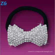 Элегантная хрустальная французская лента для волос, прическа для дам, лента для волос с бриллиантами