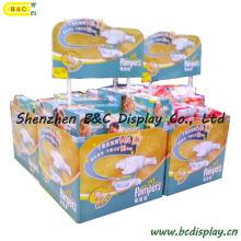Soporte de exhibición de cartón de contador de productos de bebé (B & C-C016)