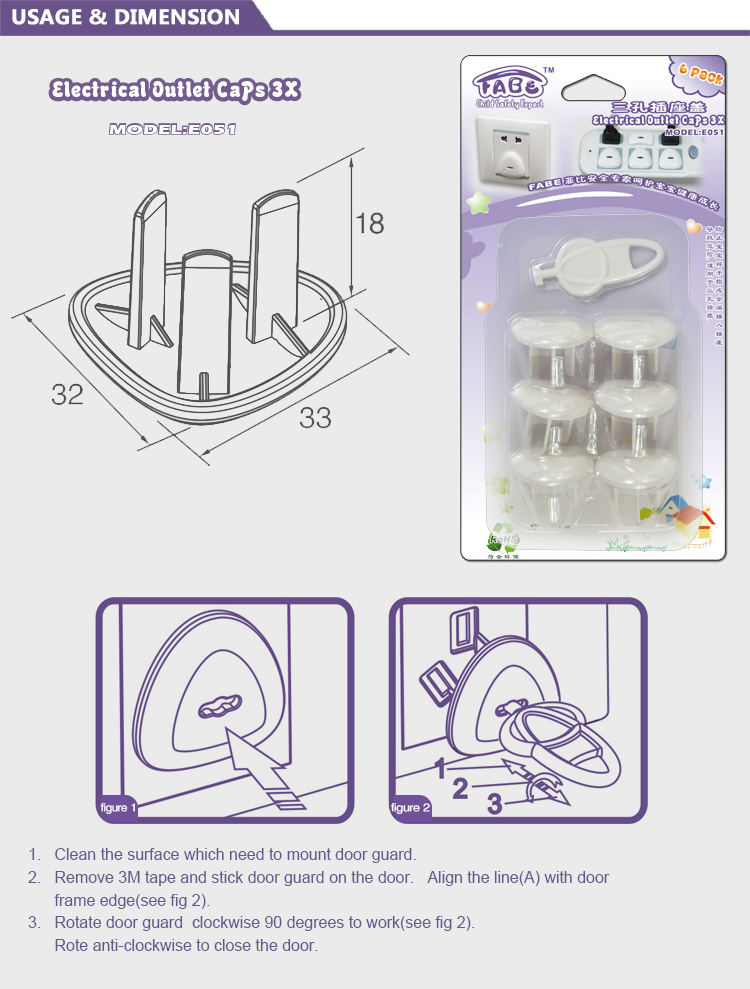Baby Safety Childproof Outlet Covers