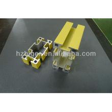 perfis de construção de extrusão de alumínio 6061 T6 & 6063