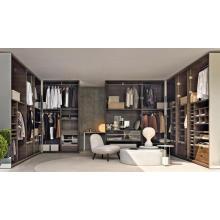 Gabinete de ropa de vidrio de fácil montaje