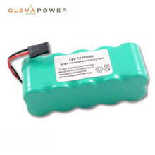AA rechargeable nimh battery pack 12V 1100mAh