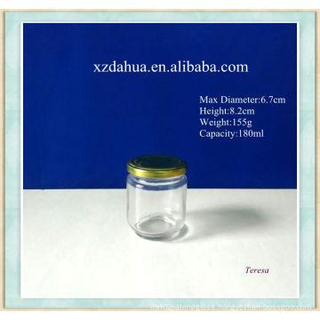 180ml Glass Jar with Lid