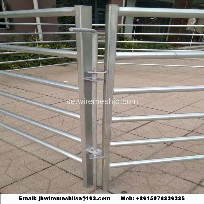 Hot Dipped Galvaniserad Metal Horse Fence Panel