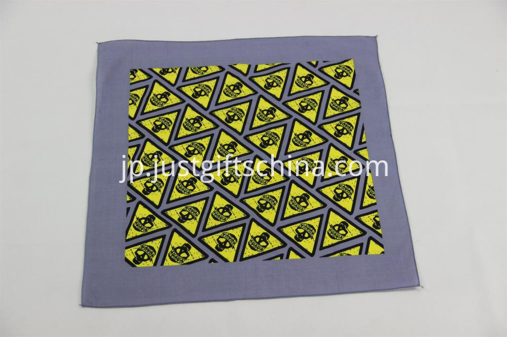 100% Cotton Bandanas - Sublimation Printing 55x55CM (3)
