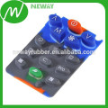 Píldora de carbono de caucho de silicona de conducción teclado