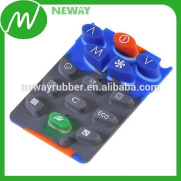 Carbon Pill Conductive Rubber Silicon Keypad