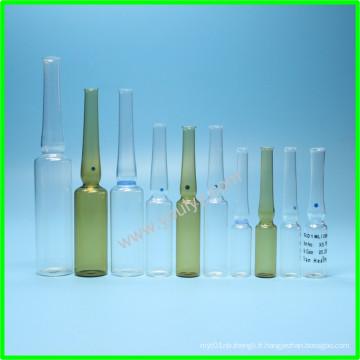 Ampoule médicale en verre