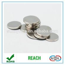 axial Zn N35 disc neodymium magnet