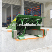Hydraulic loading ramp for trucks
