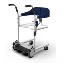 Chaise élévatrice de transfert avec fauteuil roulant Commode pour personnes handicapées