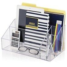 Plastic Acrylic Stationery File Folder Box