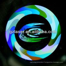 Hologram plated earrings master