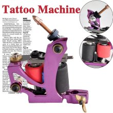 Handmade Iron 10 coils shader tattoo machine