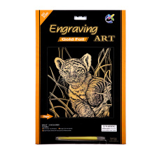 Youth Nevelty Engraving Art Scratch Cards Toys