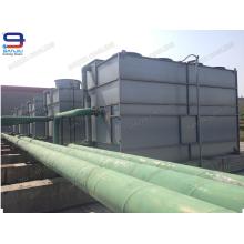 200 Ton Superdyma Closed Circuit Cross Flow GHM-200 Chiller für Zwischenfrequenz Ofen