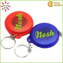 Keyholder plástico de la regla de la alta calidad para los regalos