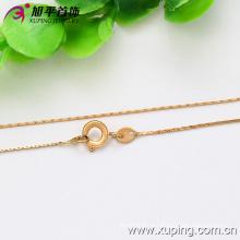 Xuping moda 18k ouro colar de cor fina (42555)