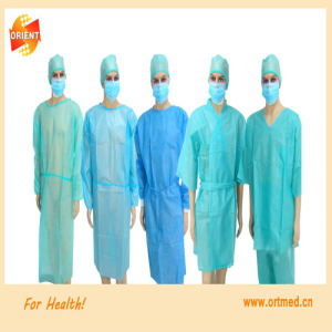Disposable sterile surgical gown, Isolation gown