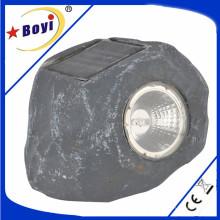 Lumière de jardin, LED, Lampe, Lampe solaire, Gris