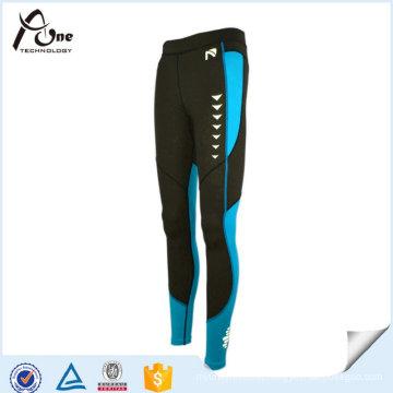 Custom Design Unisex Fitness Sports Leggings in Reflective Print
