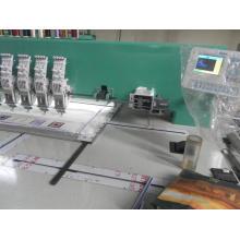 Máquina de bordar plana de 4 agulhas