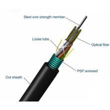 Cable trenzado ligero trenzado trenzado GYTS