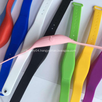 2020 Disinfectant silicone bracelet portable wristband