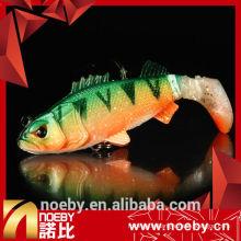 5561N 6.5cm 9.5cm isau de pêche attelage de pêche en plastique souple