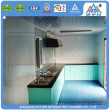 Maison de cuisine extérieure préfabriquée avec fenêtre