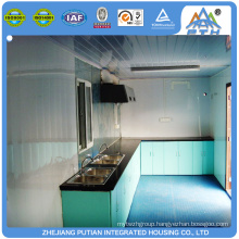 Prefabricated outdoor kitchen house with good prices