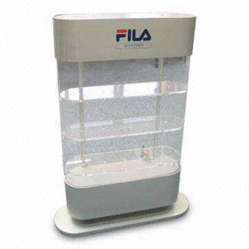 Custom Acrylic Cabinet for Shoes, Perspex Display Case for Exhibition