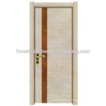 Porta de madeira elegante melamina nivelado