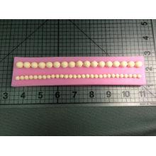 Molde de silicón del filamento de la perla del FDA de la categoría alimenticia de encargo