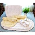 Экологичное пляжное полотенце из 100% хлопка Полотенце из 100% хлопка