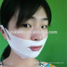 máscara que forma la cara