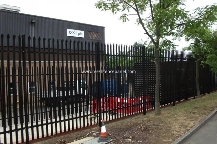 applications of palisade fence
