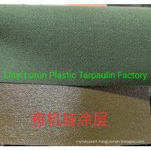 Organic Silicon Coating Canvas Tarpaulin