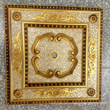 Burgundy & Gilt Bracade Decorative Artistic Ceiling Dl-1184-1