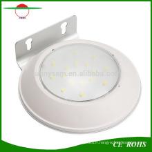 Eclairage imperméable sans fil au sol Lumière solaire 16 LED Détecteur de mouvement Lumière Radar Capteur Éclairage de sécurité extérieur