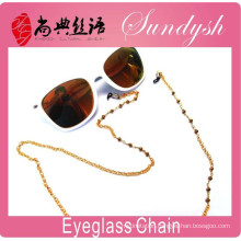 Sundysh Gold Plated Crystal Bead Reading Glasses Chain Sunglass Holder Necklace