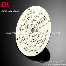 Panneau circulaire RVB LED comme source d'éclairage (SP11) Lumière LED