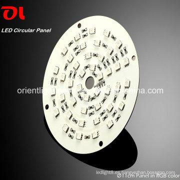Panel circular LED RGB como fuente de iluminación (SP11) Luz LED