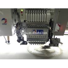 Nouvelle machine de broderie à point de chaîne à l'arrivée avec une simple bande / cordage