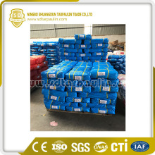High Density HDPE Blue Tarpaulin PE coated tarpaulin