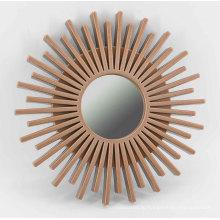 Подсолнечное зеркало для настенной декорации