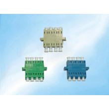 Adaptador óptico multimodo simples / frente e verso multimodo do acoplador do único modo LC da fibra óptica