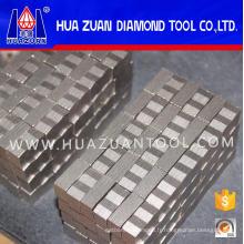 Segment de lame de 2000mm pour la coupe de bloc de granit
