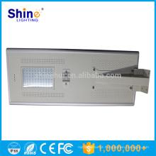 Preço de fábrica da câmera solar de 80W IP66 com luz de rua conduzida tudo em um